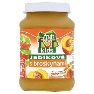 Fruit for Kids Dojčenská výživa jablková s broskyňami 190 g
