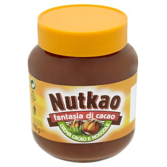 Nutkao Hazelnut Cream with Cocoa 400 g