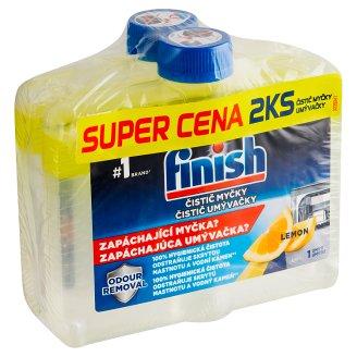 Finish Lemon Sparkle Dishwasher Cleaner 2 x 250 ml