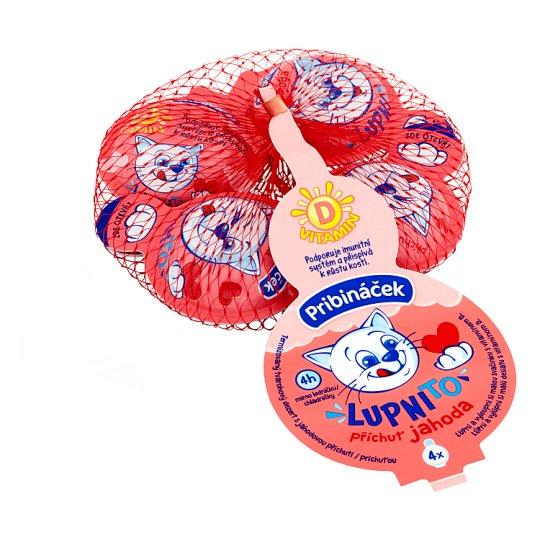 Pribináček Lupnito Strawberry 4 x 20 g