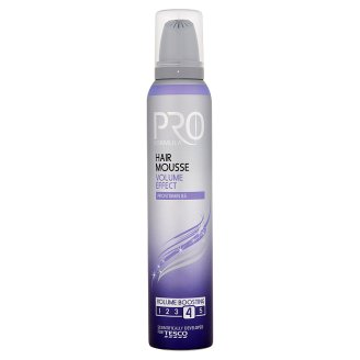 Tesco Pro Formula Volume Effect Hair Mousse 200 ml