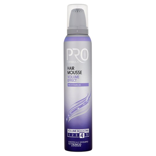 Tesco Pro Formula Volume Effect Hair Mousse 200 ml