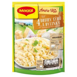 MAGGI Amore Mio 4 druhy syra a bylinky cestoviny s omáčkou vrecko 146 g
