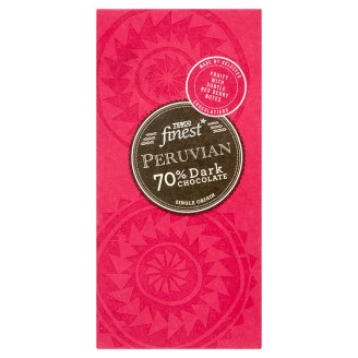 Tesco Finest Peruvian 70% Dark Chocolate 100 g