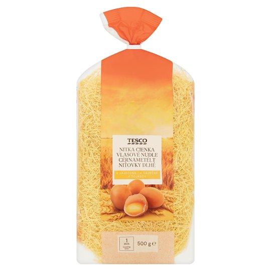 Tesco Vermicelli Long 4 Eggs 500 g