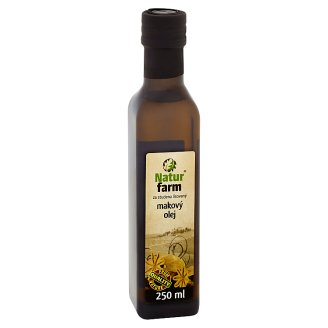 Nature Farm Poppy Seed Oil Cold Pressed 250 ml
