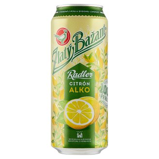 Zlatý Bažant Radler Lemon Mixed Alcoholic Drink 500 ml