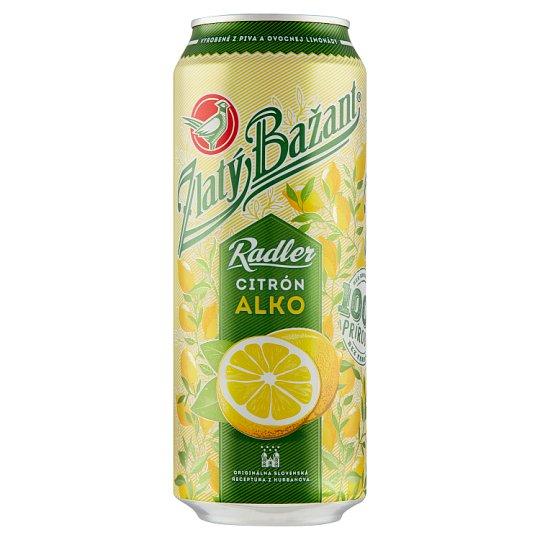 Zlatý Bažant Radler Lemon Mixed Alcoholic Drink 500 ml