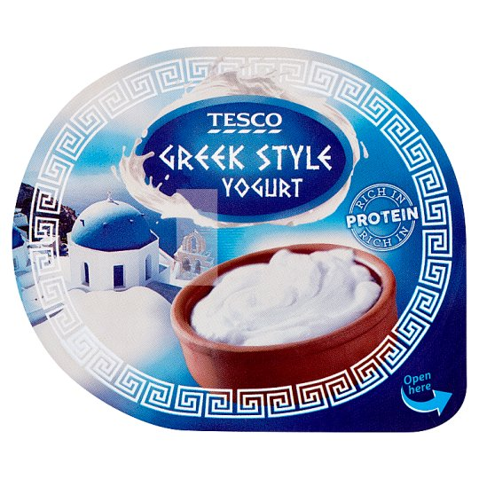 Tesco Greek Style Yogurt White 140 g