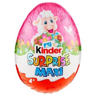 Kinder Surprise Maxi sladké vajíčko s mliečnou čokoládou - s prekvapením 100 g