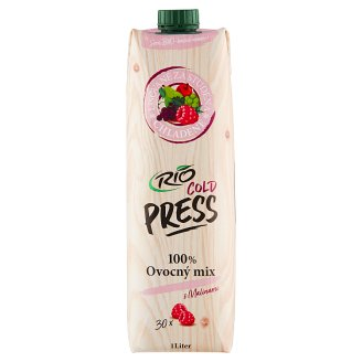 RIO FRESH 100% Juice Fruit Mix with Raspberry 1 L