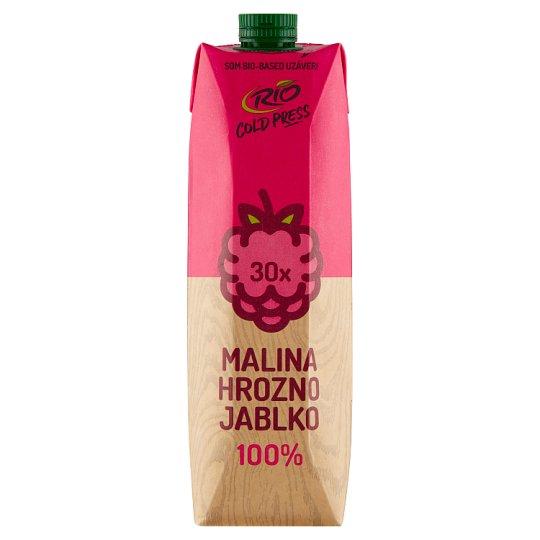 RIO FRESH 100% Juice Fruit Mix with Raspberry 1 L