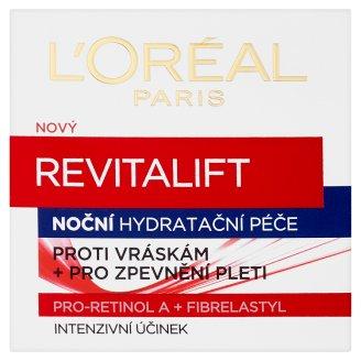 L'Oréal Paris Revitalift Nočná hydratačná starostlivosť proti vráskam + pre spevnenie pleti 50 ml