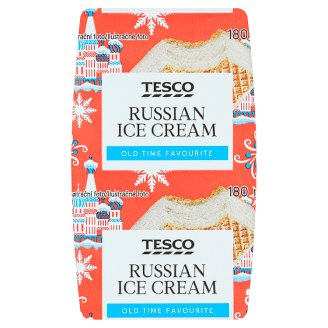 Tesco Russian Ice Cream 180 ml