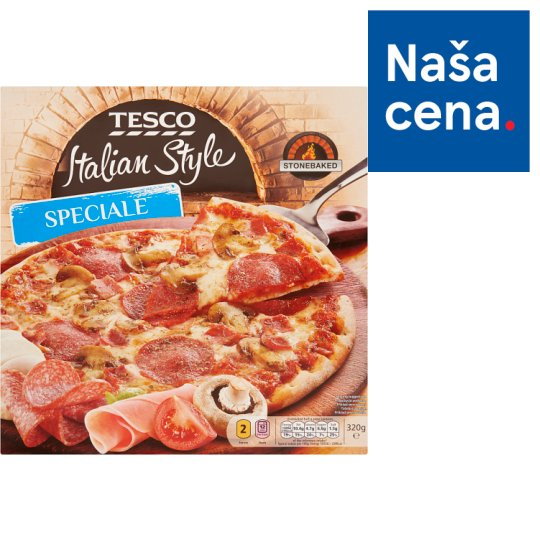 Tesco Italian Style Pizza Speciale 320 g