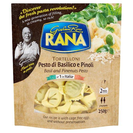 Rana Tortellini Fresh Egg Pasta with Basil Pesto, Cheese and Pine Nuts 250 g