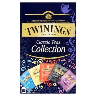 Twinings Classic kolekcia čiernych čajov 20 x 2 g