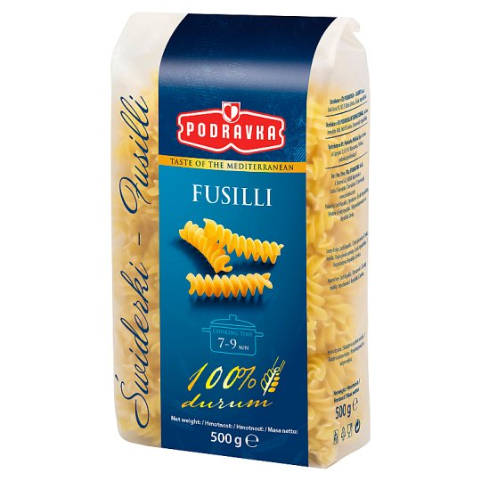 Podravka Fusilli Semolina Pasta 500 g