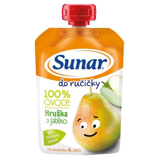 Sunárek Do Ručičky Jablko Hruška 100 % ovocia 100 g