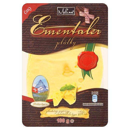 Melina Ementaler Ripened Cheese Slices 100 g