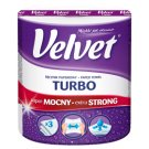 Velvet Turbo Paper Towel 3 Ply 1 Roll