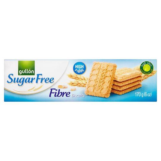 Gullón Fibre Biscuits with Fiber Sugar-Free 170 g