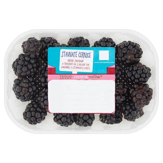 Tesco Čerstvá voľba Juicy Blackberries 125 g