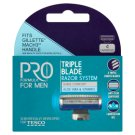 Tesco Pro Formula For Men Right Fit 3 Refills 4 pcs