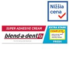 Blend-a-dent Complete Fresh Fixačný Krém Na Zubnú Protézu 47g
