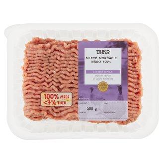 Tesco Mletý mäsový prípravok z morčacieho mäsa chladený 500 g