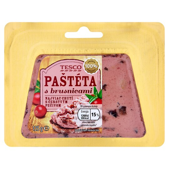 Tesco Meat Pie with Cranberries 125 g