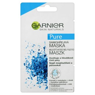 Garnier Skin Naturals Pure Self Heating Sauna Facial Mask 2 x 6 ml