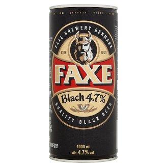 Faxe Black 4,7 % tmavé pivo 1 l