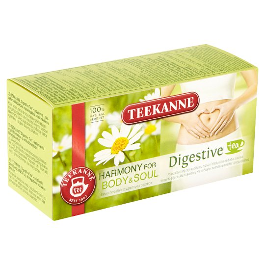 TEEKANNE Harmony for Body & Soul, Digestive, bylinný čaj, 20 vrecúšok, 36 g