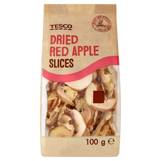 Tesco Dried Red Apple Slices 100 g