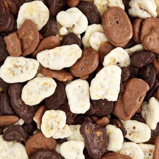 Tesco Banana Chips Mix in Chocolate and Yoghurt