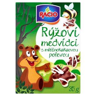 Racio Rice Tins with Milk-Cake Topping 35 g