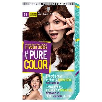 Schwarzkopf Pure Color farba na vlasy Čokoládová Pralinka 5.6