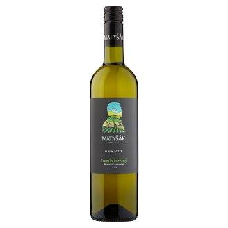 Matyšák Tramín Červený Quality Dry White Wine 0.75 L