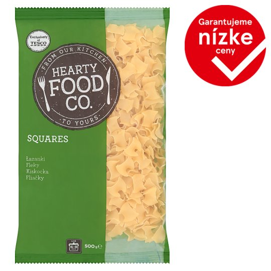 Hearty Food Co. Squares 500 g