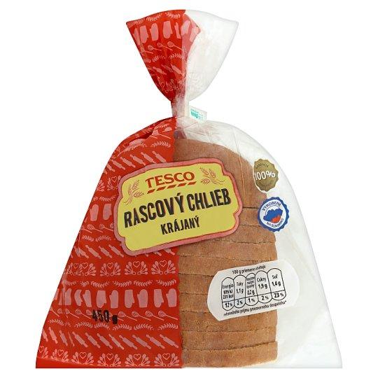 Tesco Rascový chlieb krájaný 450 g