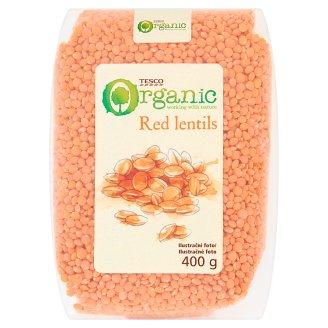 Tesco Organic Red Lentils 400 g