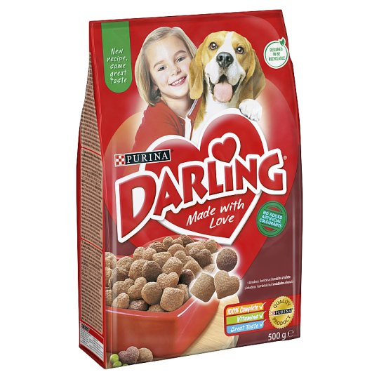 DARLING with Beef and Added Selected Vegetables 500 g