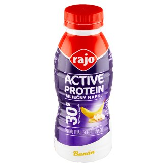 Rajo Active Protein Milk Drink Banana 330 ml