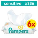 Pampers Sensitive Baby Wipes 6 Packs 336 wipes