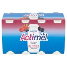 Danone Actimel Yoghurt Milk with Vitamins B6 and D - with Wild Berries 8 x 100 g