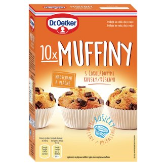 Dr. Oetker Muffins with Chocolate Pieces 260 g