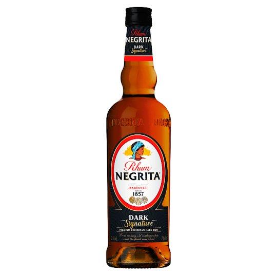 Negrita Signature Dark Rum 37.5 % 0.7 L
