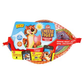 Zott Cheese Tiger Jahodová aróma 4 x 20 g