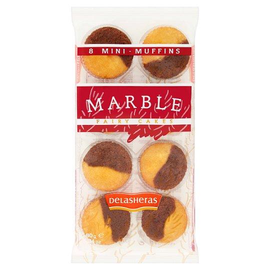 Delasheras Mini muffiny mramorové 180 g